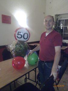 50. Geburtstag Thomas